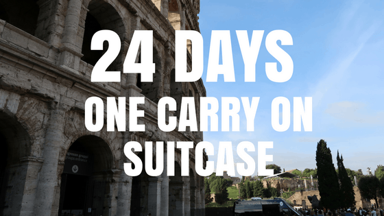 My Packing List for 24 Days in Europe
