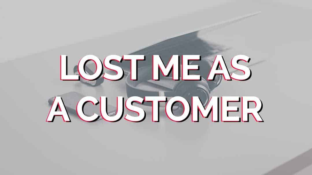 Best Buy Lost Me As A Customer… Again