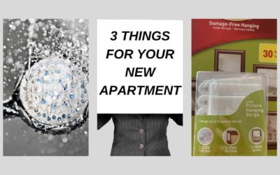 Three things you should get when you move into a new apartment