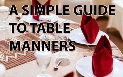 A simple guide to table manners